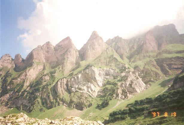 Dovolená v Alpách