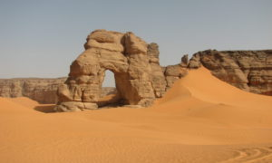 Romantická Sahara